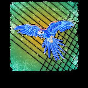 Papagei im Dschungel