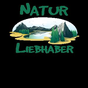 naturliebhaber naturelover Shirt