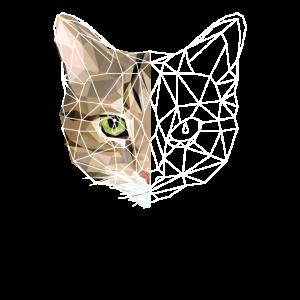 Polygon Poligon Katze