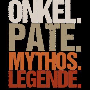 Onkel Pate Mythos Legende Vintage Look