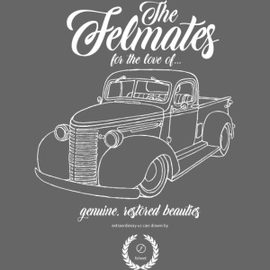 the felmates us cars outlines white 1