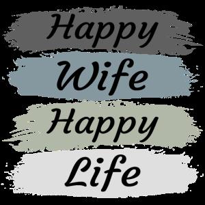 Glückliche Ehefrau - Retro Vintage
