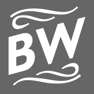 White BW logo