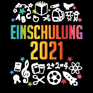 Einschulung 2021 Schulkind Geschenk Schulanfang