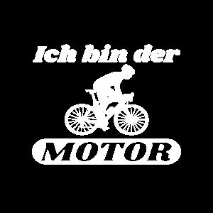 Rennradfahrer - Ich bin der Motor