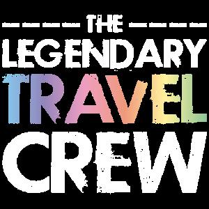 Travel Crew Spruch