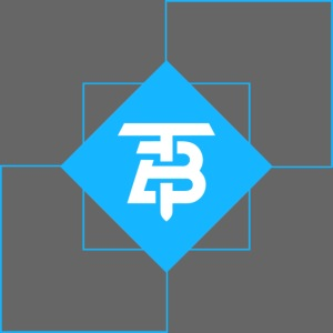 BTITANS Geometric Logo Print