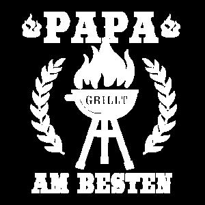 Papa grillt am besten Grillmeister Geschenkidee