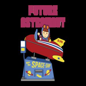 Kids Budding Girl Scientist Zukunftsastronaut