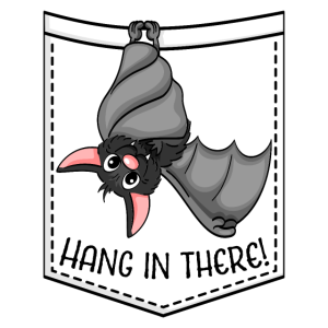 Hang in there! Fledermaus Vampir Halloween