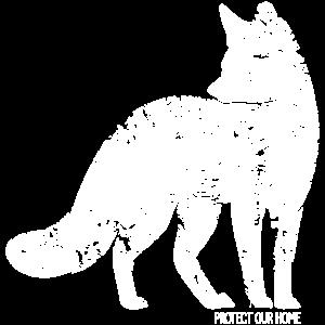 Protect Our Home - Umweltschutz Klimaschutz Fuchs