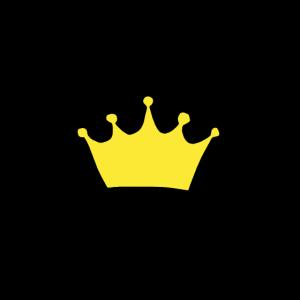 Krone handgezeichnet