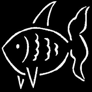 einzeiliger Fisch
