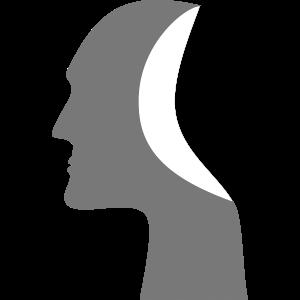 Skulptur Kopf