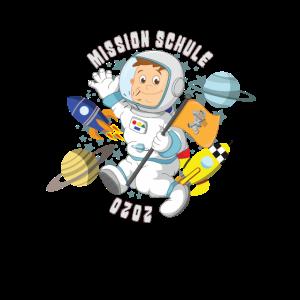 Einschulung Schule Astronaut für Jungs