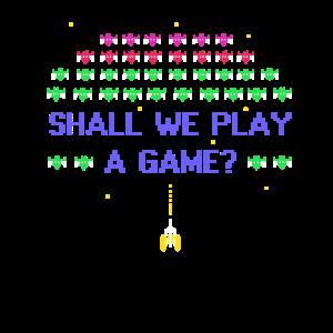 Sollen wir ein Spiel spielen? Shirt Gamer Online Gaming MM