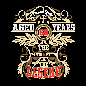 60 Geburtstag Vintage