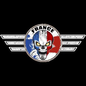 Frankreich Schädel