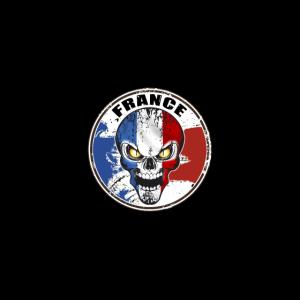 Schädel Frankreich