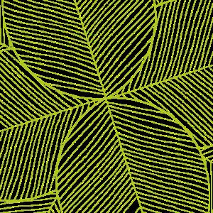 Muster Gruen Blaetter Pflanzen