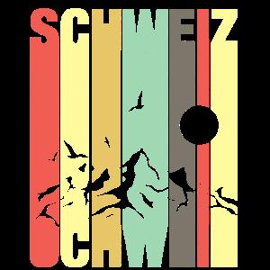 retro Schweiz Schweizer Geschenk Eidgenosse