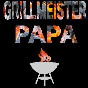 Grillmesiter Papa, cooles Geschenk für Männer