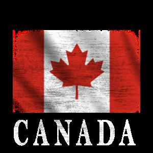 Canada,Kanada Flagge