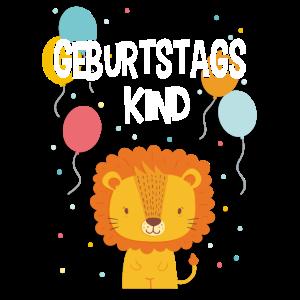 Geburtstagskind Geburtstag Kindergeburtstag Löwe