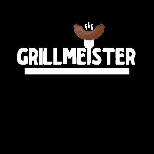 Grillmeister Grillen Grillkönig Geschenk Fun Shirt