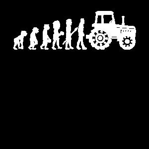 Traktor Evolution Trecker Landwirt Bauer Geschenk
