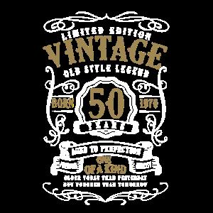 50. Geburtstag -1970 Geboren Vintage Geschenk