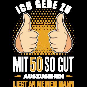50 Geburtstag. 50 Jahre Geschenk 50. Geburtstag