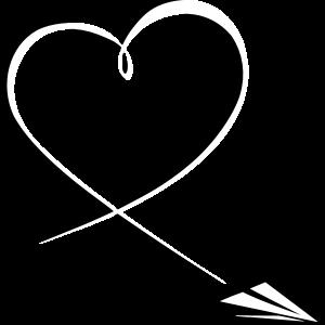 Paperplane Heart