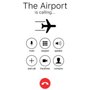 Lotnisko dzwoni - czarne