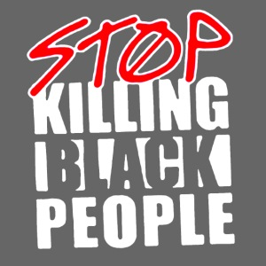 Stop Killing Black People Men's T-shirt