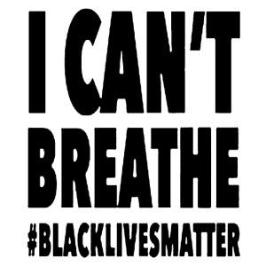 I Can't Breathe Black Lives Matter T-Shirt