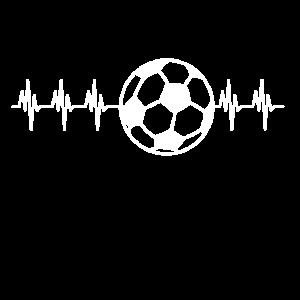 Herzschlag Fussball
