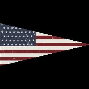 USA Wimpel Fahne Team Sport Symbol