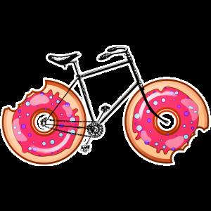 Fahrrad Donut!