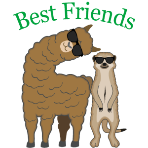 Beste Freunde Best Friends Coole Tiere Geschenk