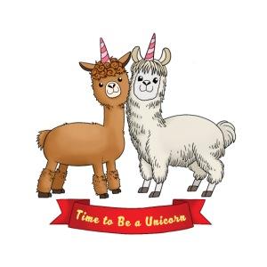 Time to Be a Unicorn 12x14 CMYK