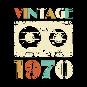 50. Geburtstag Vintage 1970 Retro