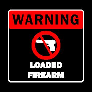 Keine Waffen Warnung