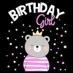 Geburtstagskind Kindergeburtstag Birthday Girl