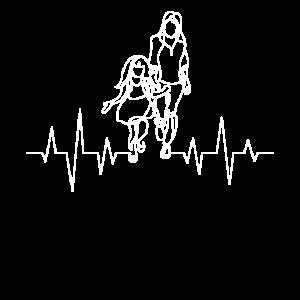 Mutter Und Tochter Herzschlag Partnerlook