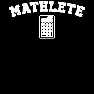 Mathlete - nerdiges und geeky Geschenk