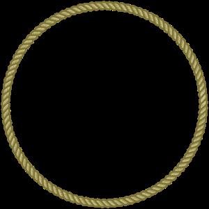 Kreis Kordel Rahmen Seil Wappen Vorlage Umrandung