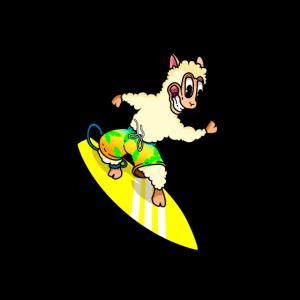 Surfing Alpaka