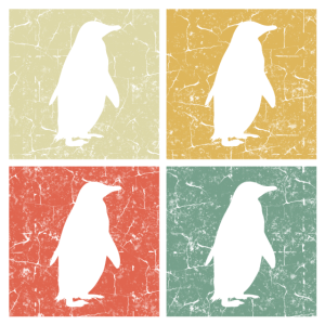 Retro-Pinguin-Kopie