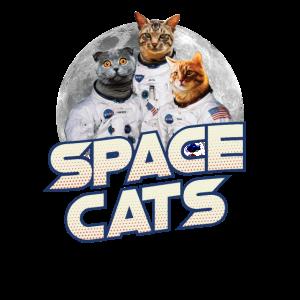 Weltraumkatzen - nerdiges und geeky Geschenk